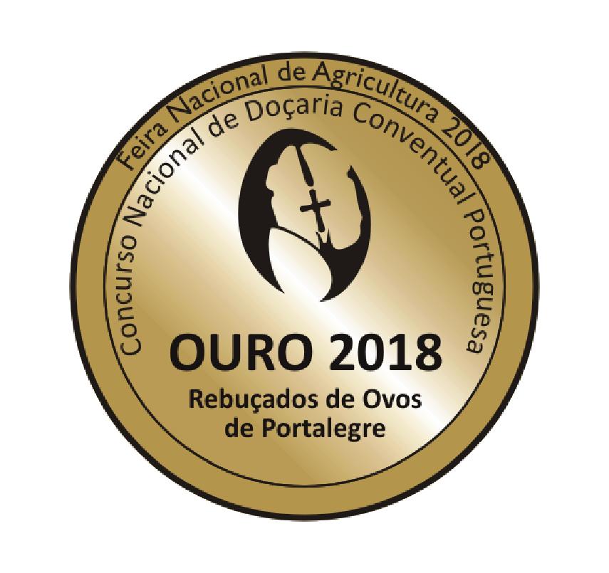 Medalha de Ouro Feira Nacional de Agricultura 2018
